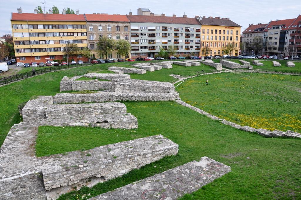 A katonai amfiteátrum a mai Budapesten