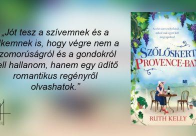 Ruth Kelly – Szőlőskert Provence-ban